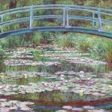 The Japanese Footbridge Print