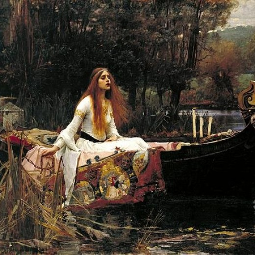 The Lady Of Shalott Print