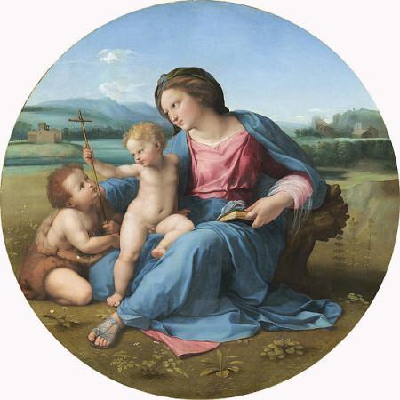 Alba Madonna Print