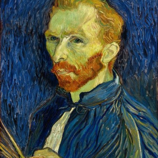 Vincent Van Gogh Self Portrait With Palette Prints