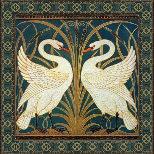 Two Swans Print