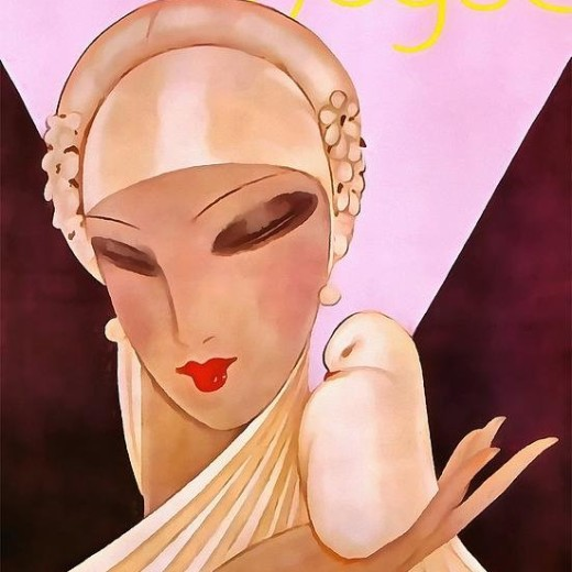 blushing-bride-art-deco-