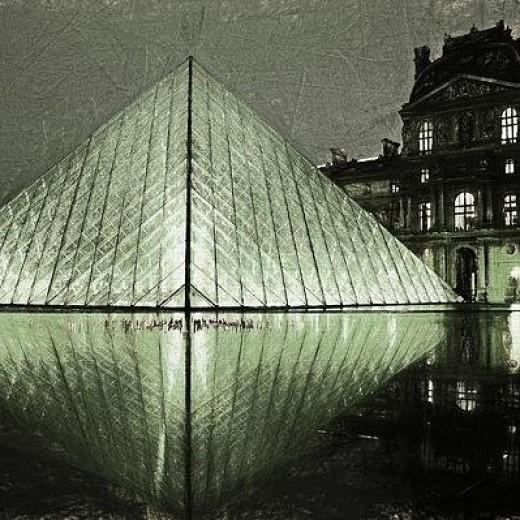 Louvre Paris Print