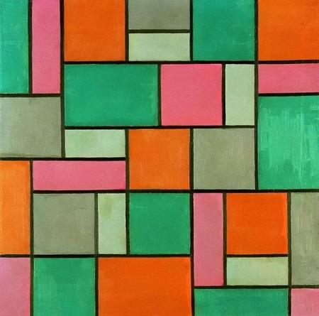 Theo van Doesburg Composition 17
