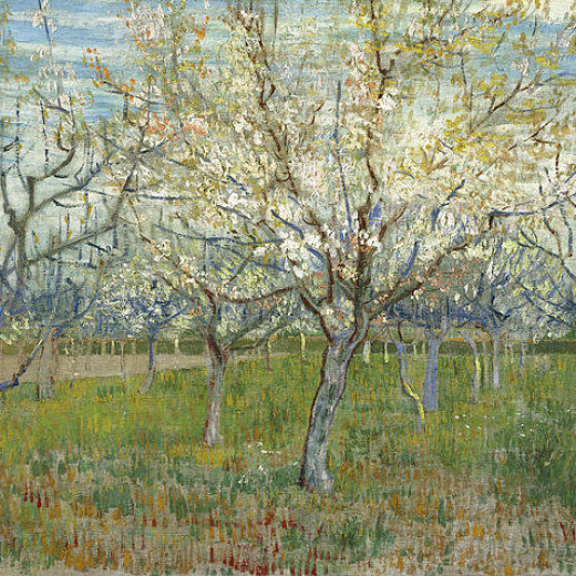 1-the-pink-orchard-vincent-van-gogh