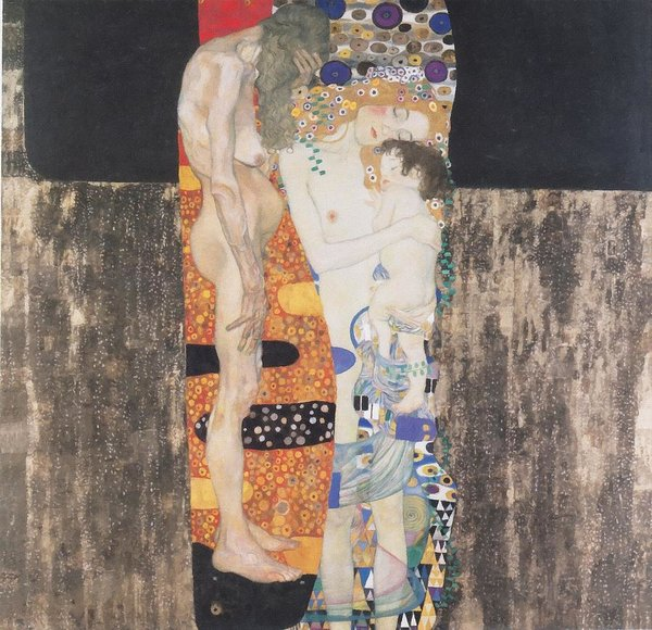 1-the-three-ages-of-woman-gustav-klimt