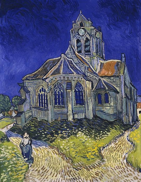 2-the-church-at-auvers-vincent-van-gogh