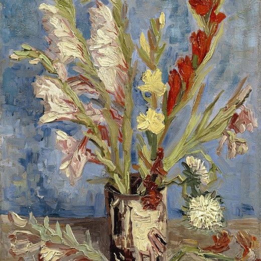 2-vase-with-gladioli-and-china-asters-vincent-van-gogh