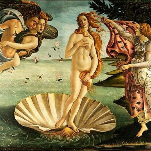 The Birth Of Venus Print