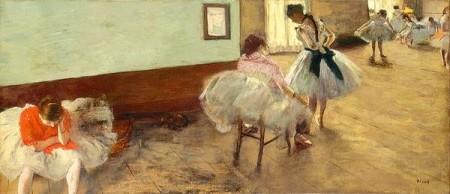 The Dance Lesson Print
