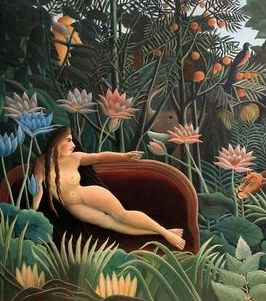 'Henri Rousseau The Dream