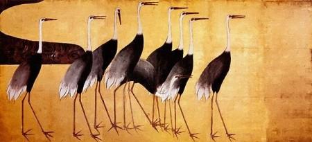 Ogata Kōrin Cranes