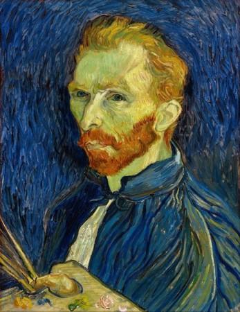 Vincent Van Gogh Self Portrait With Palette Prints