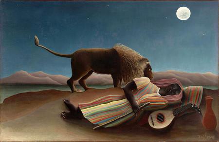 The Sleeping Gypsy Print