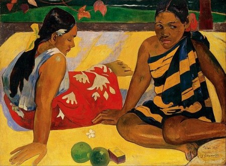 Two Women Of Tahiti