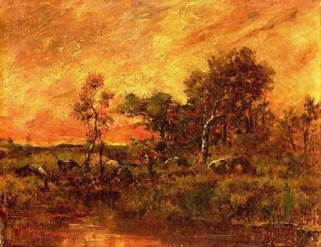 Wooded Landscape Print