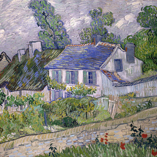 4-houses-at-auvers-vincent-van-gogh