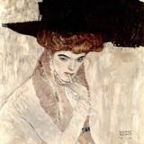 lady-with-feather-hat-gustav-klimt